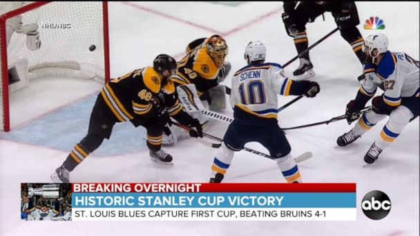 St. Louis beats Boston to win 2019 Stanley Cup