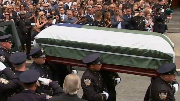 Funeral held for 9/11 hero
