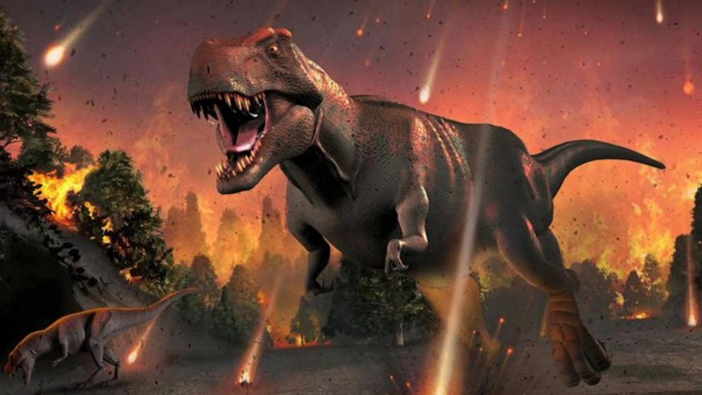 Asteroid as powerful as 10 billion WWII atomic bombs may have wiped out  dinosaurs Video - ABC News