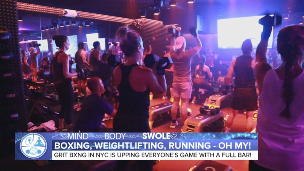 NYC gym has a full bar