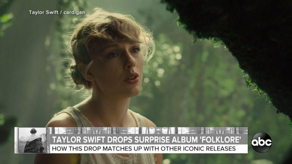Taylor Swift Folklore Album Cover Hd