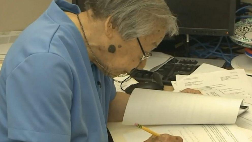 100-year-old California state employee