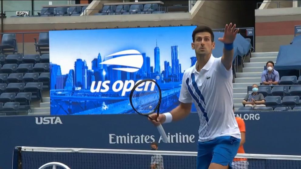 Novak Djokovic Removed From Us Open Video Abc News