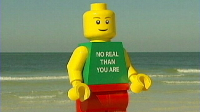 giant lego man washes up on florida beach police take it into