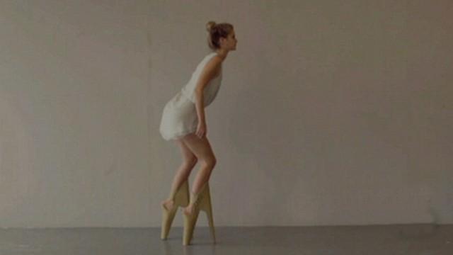 The Highest Heel Video - ABC News