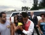 Teens Make Save on Way to Prom