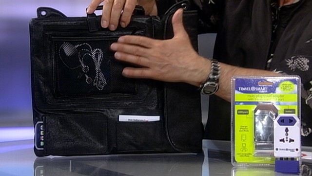 VIDEO: Dick DeBartolo shows off the latest gadgets for your next trip.
