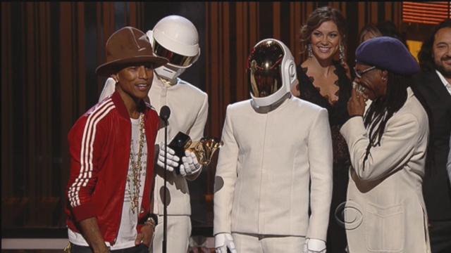 VIDEO: Daft Punk took home top awards; plus Lorde, Pharrell, Beyonce and Jay Z sang their hit songs.