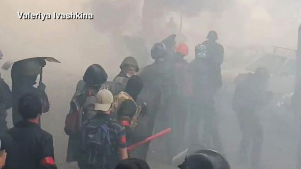 Ukraine Reaches Boiling Point as at Least 35 Killed in Blaze