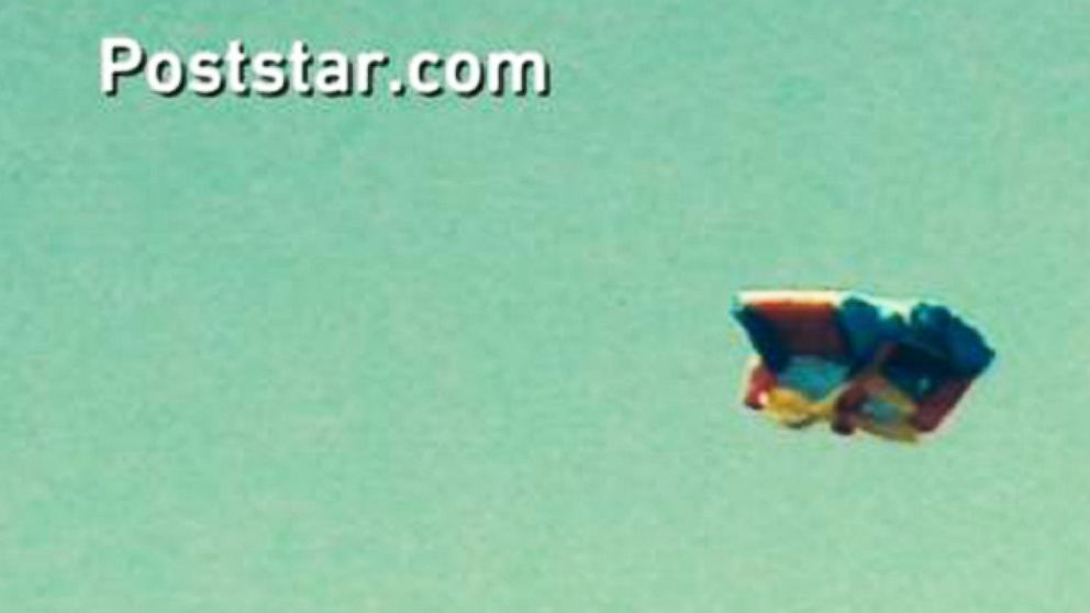 Bounce house flew away
