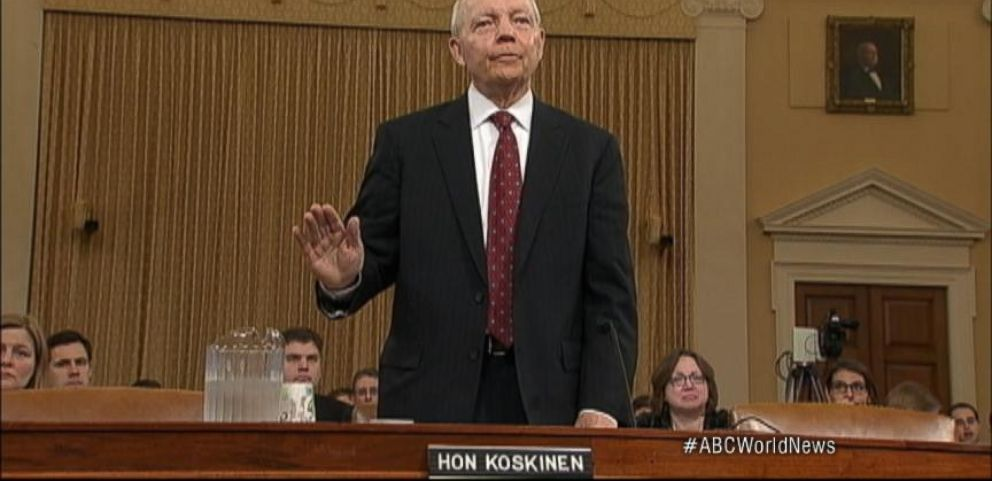 IRS Firestorm Over Tea Party Targeting