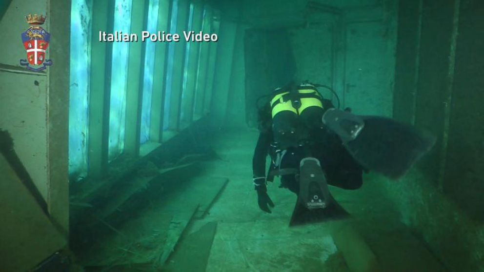 Ghost Ship Costa Concordia Video Abc News