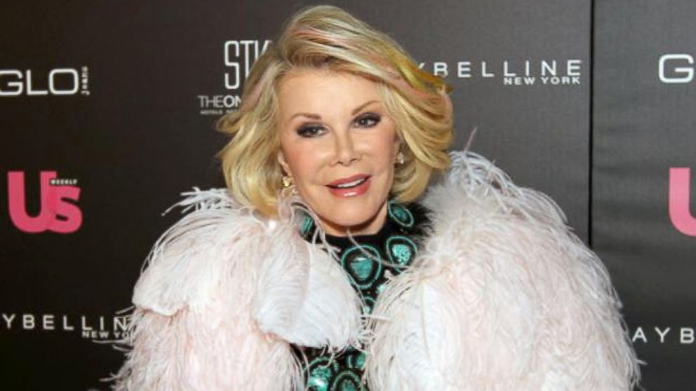 Image result for joan rivers cause of death