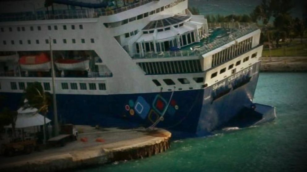 Halloween Horror Strikes Cruise Ship On Open Water Video Abc News