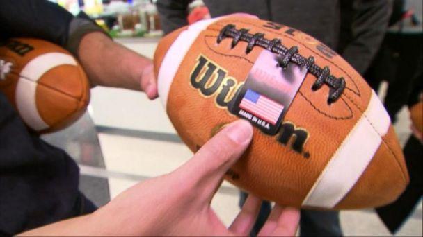 Wilson Football Equipment Handmade in America