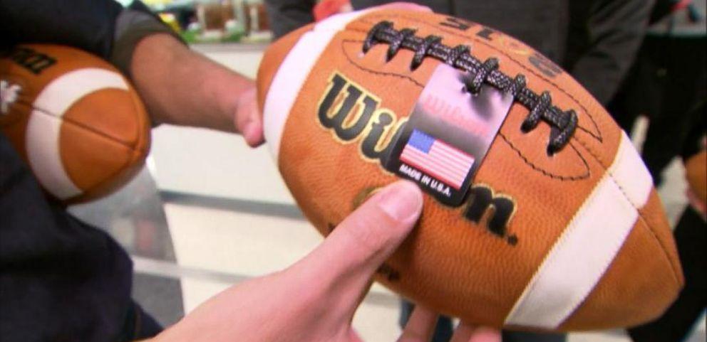 VIDEO: Wilson Football Equipment Handmade in America