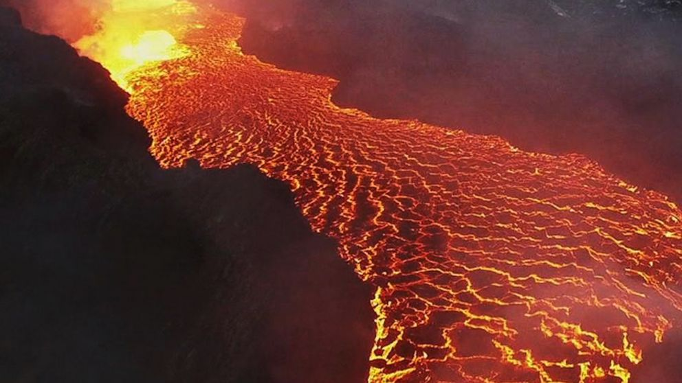Inside A Volcano With Ginger Zee Video Abc News
