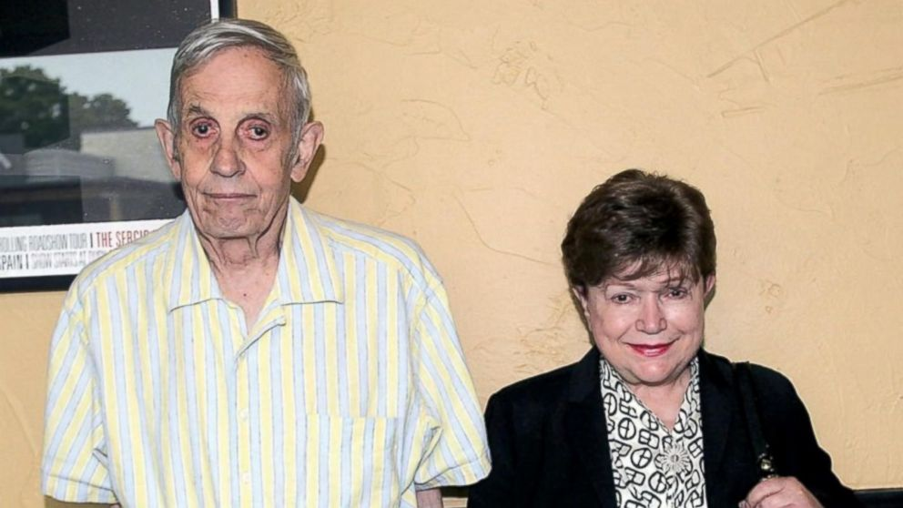 A Beautiful Mind' Mathematician John Nash and His Wife