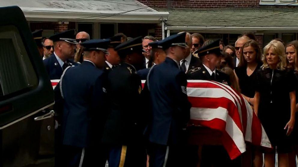 Beau Biden S Funeral Held In Delaware Abc News