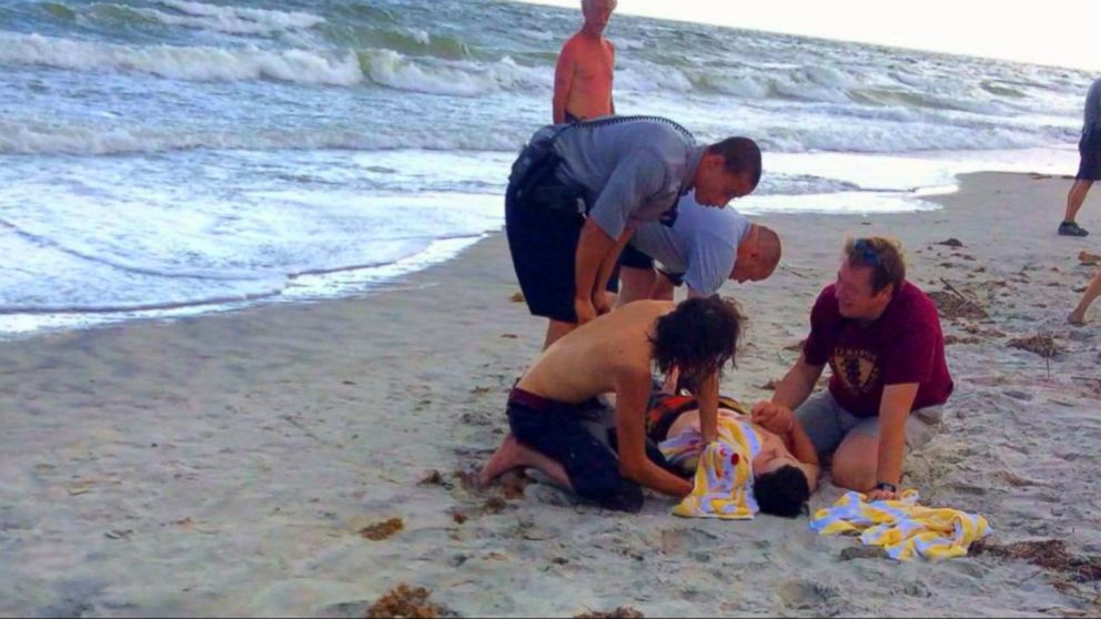 Teen S Condition Improving After Shark Attack In North Carolina Abc News