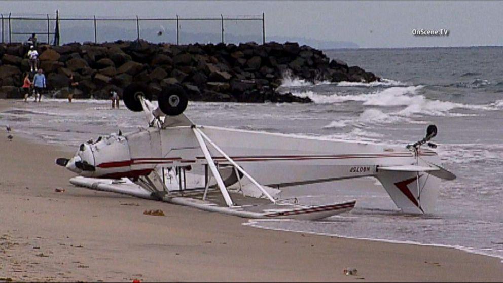12-Year-Old Injured as Single-Engine Plane Crash Lands on California Beach