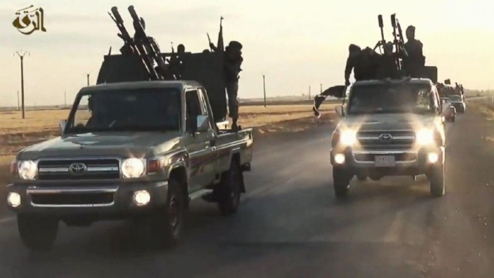 Us Officials Ask How Isis Got So Many Toyota Trucks Abc News