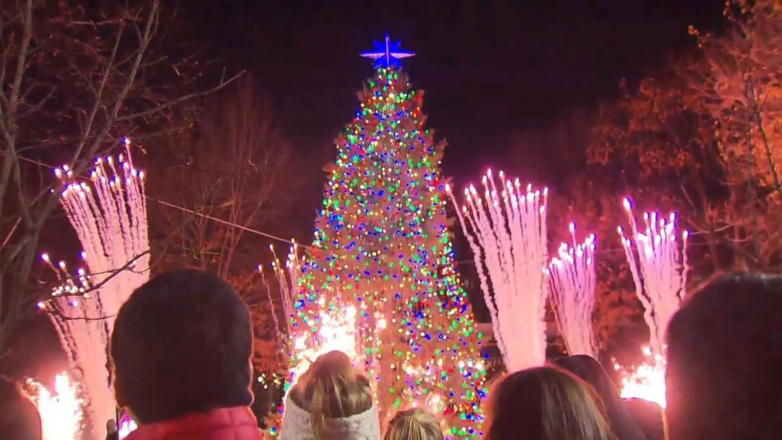 Nj Holiday Tree Lighting Sparks Controversy Plus Other Christmas