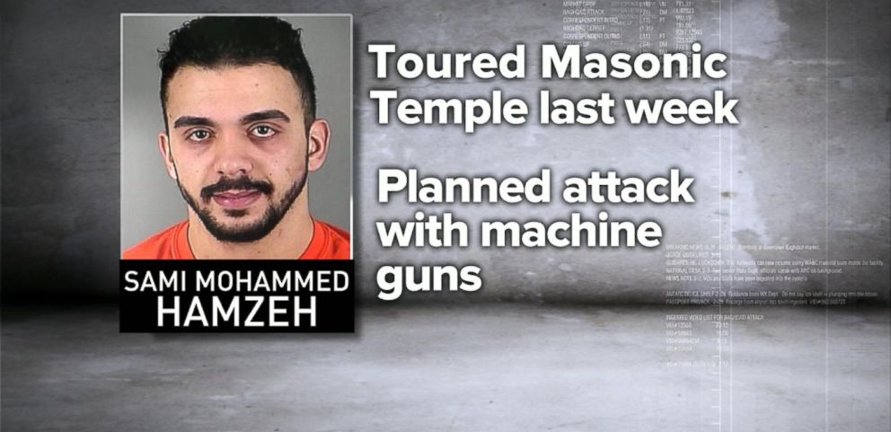 VIDEO: FBI Thwarts Terror Plot Against Masonic Temple in Wisconsin