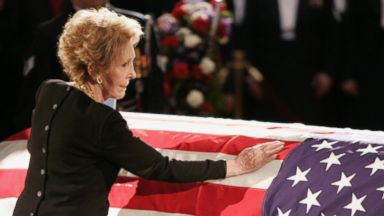 Final Farewell To First Lady Nancy Reagan Video Abc News