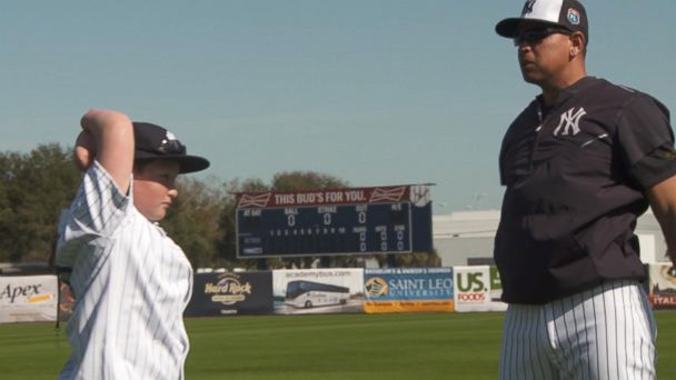 Landis Sims Realizes His Dream to Play With Yankees Despite Being Born Without All 4 Limbs
