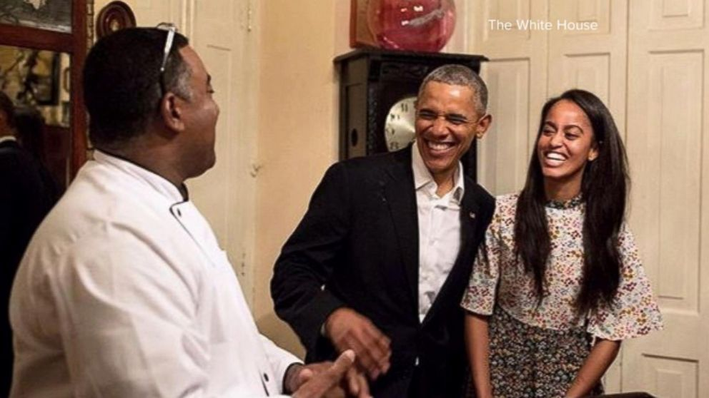 President Obama: Daughter Malia's Spanish 'Is Much Better