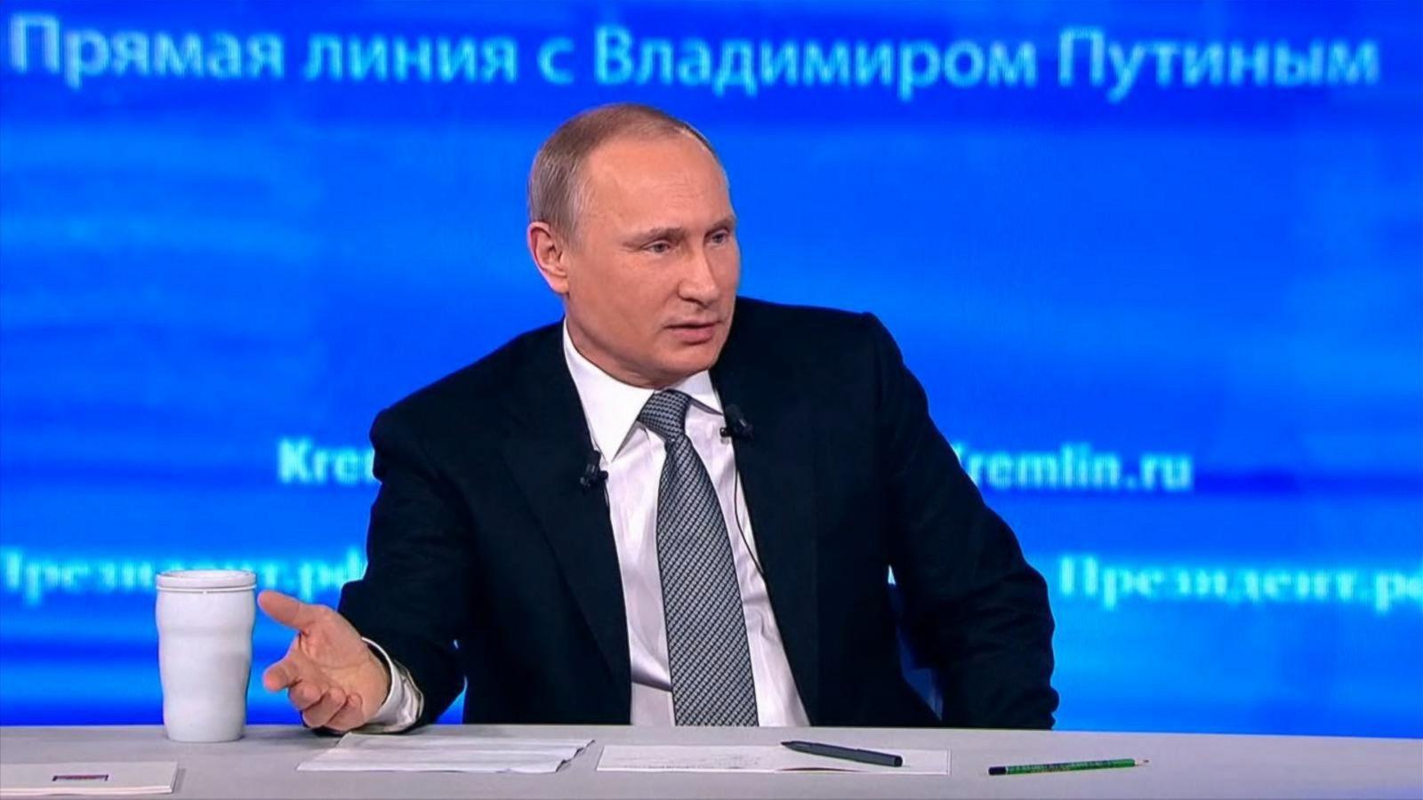 Vladimir Putin Heaps Praise on Obama, but Dodges on Clinton vs ...