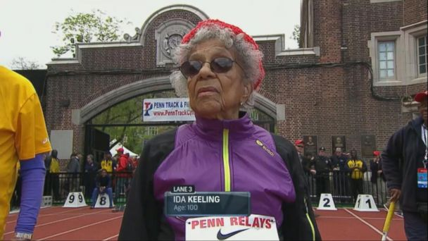 100-Year-Old World Record Holder Shares Her Running Secrets With David Muir