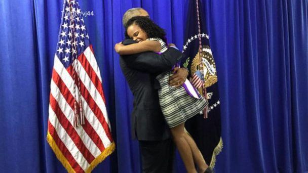 'Little Miss Flint' Tells David Muir Hugging President Obama Was 'Amazing'