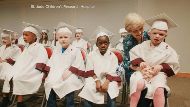Kids Battling Cancer Graduate From Kindergarten