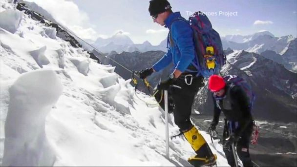 Celebrating Wounded Warriors on Top of the World