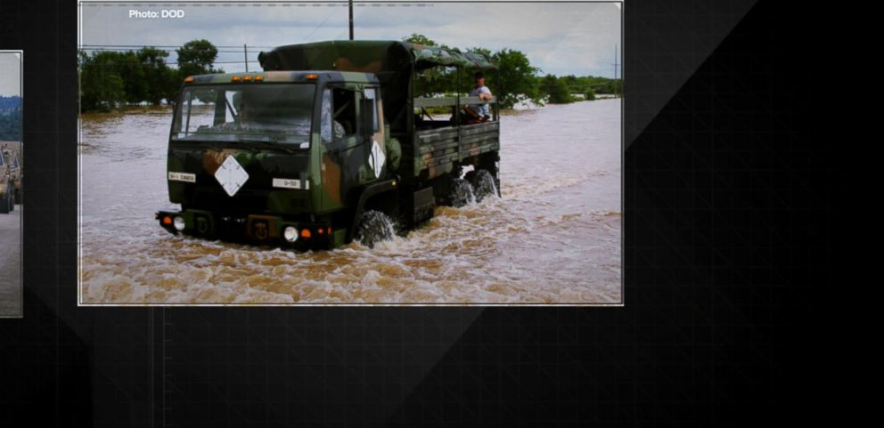 VIDEO: Tactical Vehicle Swept Away by Floodwaters, Leaving 9 Dead