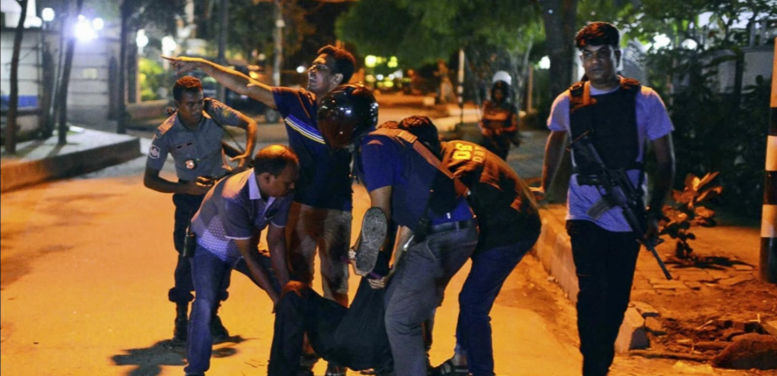 VIDEO: Gunman Hold at Least 20 Hostages in Bangladesh Cafe