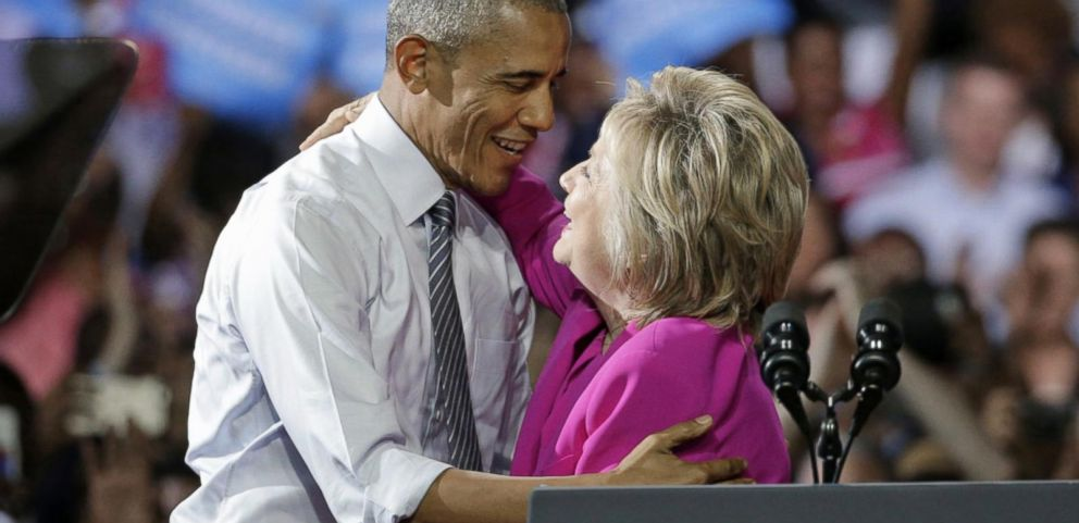 VIDEO: President Obama Hits the Campaign Trail With Hillary Clinton