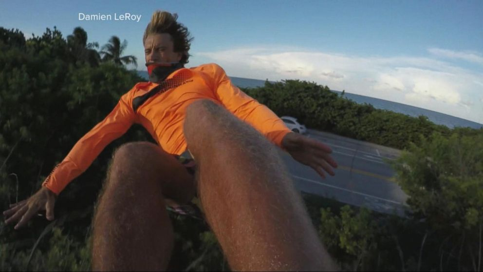 Paraglider's Death-Defying Leap and the Split Second Decision That Saved  His Life