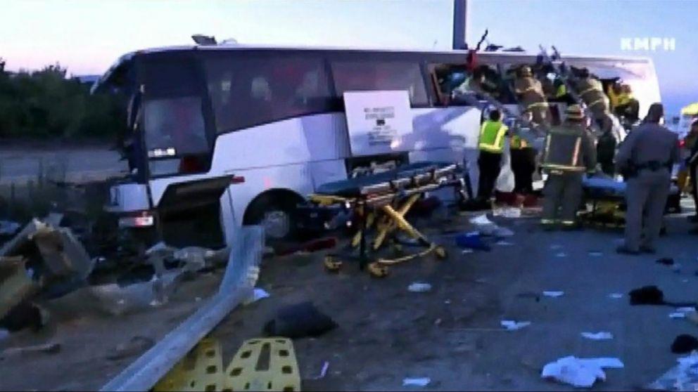 Deadly Bus Crash in Fresno, California