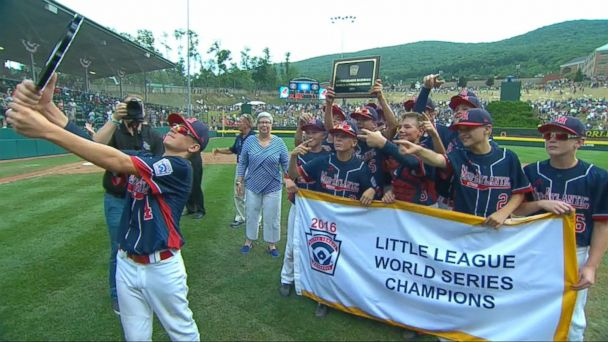 Little League Team Wins World Series Championship and a Perfect Season