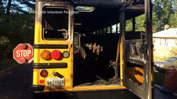 School Bus Driver Braves Flames to Make Sure Students Are Safe