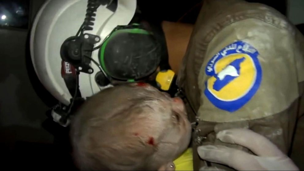 VIDEO: Selfless Volunteers Searching for Survivors in War-Torn Syria