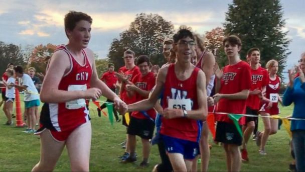 Our 'Persons of the Week' Highlights Runner at High School Cross-Country Meet