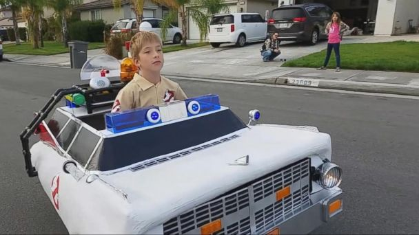 Ryan Scott Miller Is Known for Creating Special Halloween Costumes for His Son