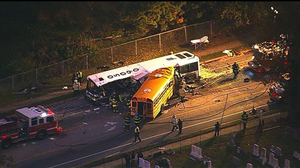 Deadly Bus Crash in Baltimore