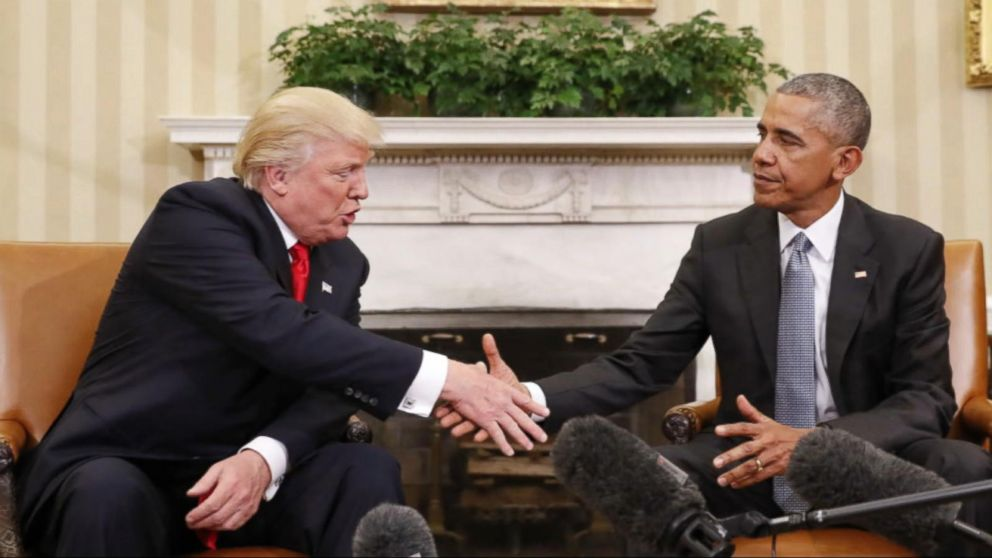 VIDEO: Oval Office Meeting Between Trump and Obama