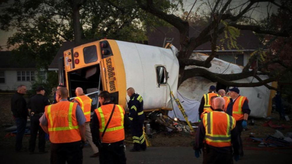School Bus Crashes With 35 Elementary School Students on Board