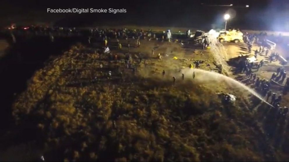 VIDEO: North Dakota Protesters Vow They Will Not Back Down After Violent Clashes